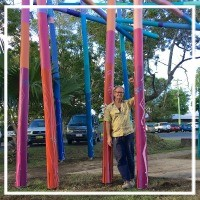 Evolving Sculpture on Mullumbimby